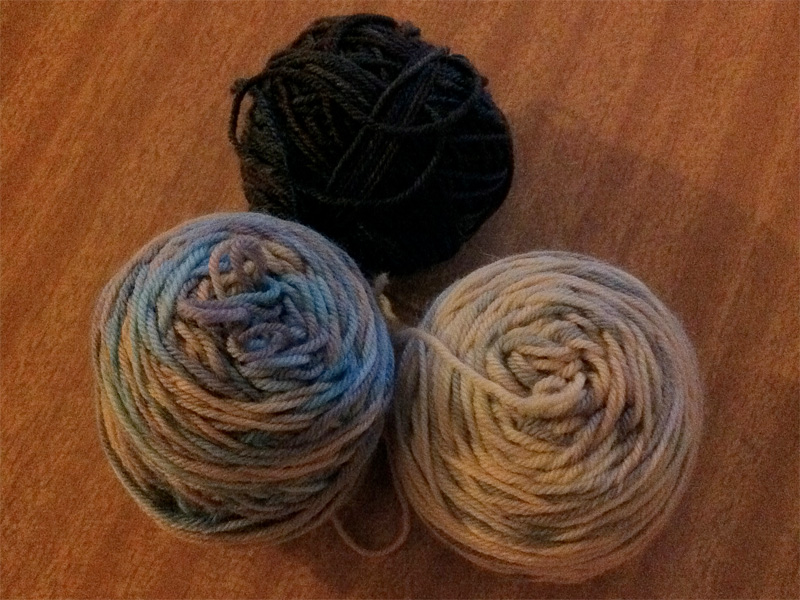 Lorna's Lace Sock Yarn.
